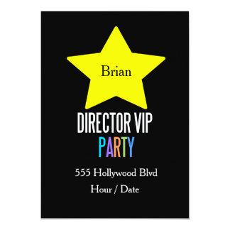 KIDS Director star vip party invitation Customize