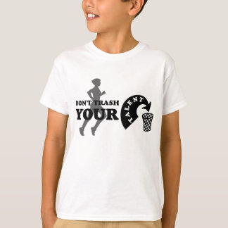 Kids Dont Trash Your Talent Running T-Shirt