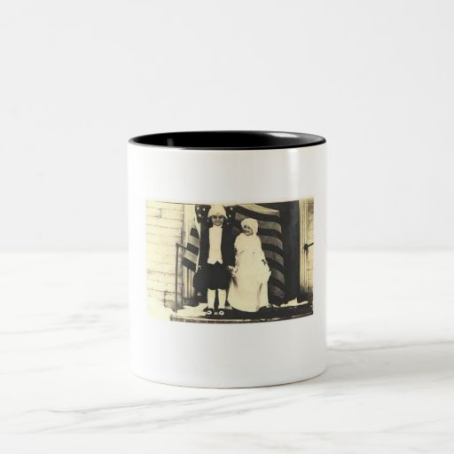 Kids dressed as George and Martha Washington Coffee Mugs