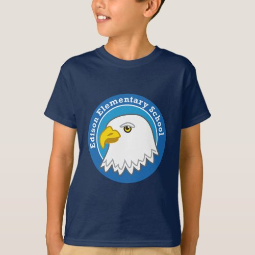 Kids Eagle Shirt dark