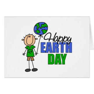 Kids Earth Day Gift Greeting Card