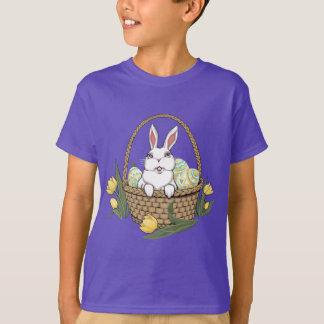 Kid's Easter Shirt Easter Bunny Basket Tee Shirt