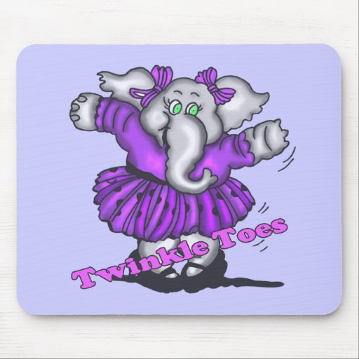 Kids Elephant T Shirts and Gifts Mouse Pad
