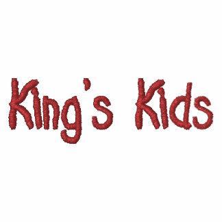 Kids Embroidered Shirt de rey