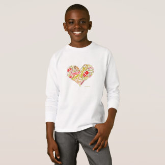 Kids Empowered Heart Long Sleeved Top