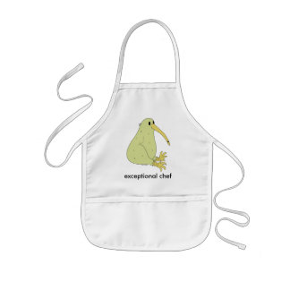 kid's exceptional chef apron