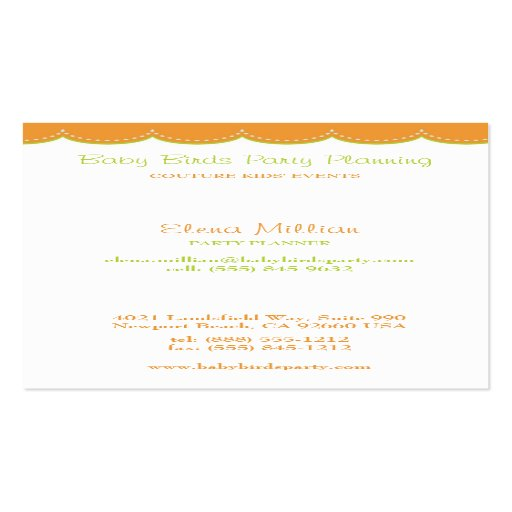 Kids family business card zazzle for Family business cards