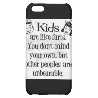 Kids fart humor Speck Case iPhone 5C Covers