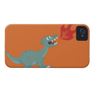 Kids Fire-Breathing Dinosaur Art by Jeff Nevins Case-Mate iPhone 4 Case