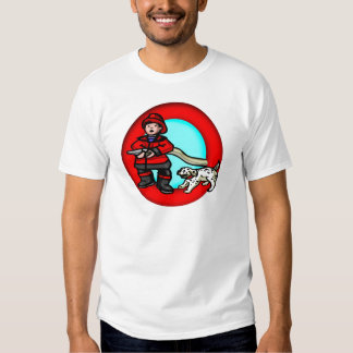 Kids Fireman T Shirt