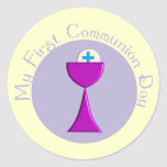 Kids First Communion Day Stickers