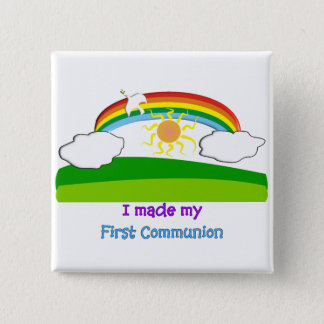 Kids First Communion T-Shirts and Gifts Button