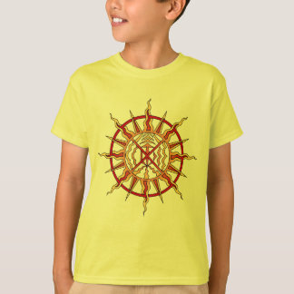 Kid's First Nations T-Shirt Spiritual Tribal Art
