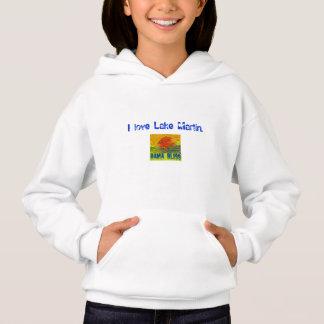"Kid's Fish Hoodie Sweatshirt ""Lake Martin"" Alabama"
