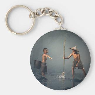 Kids Fishing Key Chain
