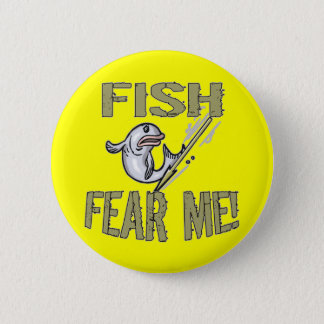 Kids Fishing T Shirts and Kids Fishing Gifts Button