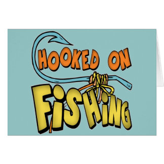 Kids Fishing T Shirts and Kids Fishing Gifts Card