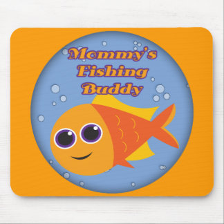 Kids Fishing T Shirts and Kids Fishing Gifts Mouse Pad
