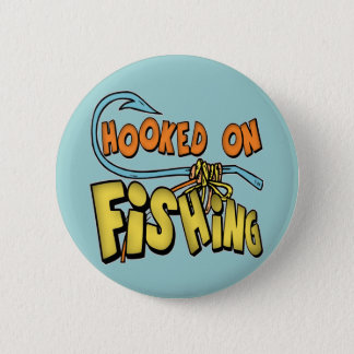 Kids Fishing T Shirts and Kids Fishing Gifts Pinback Button