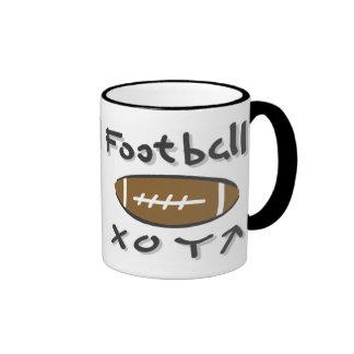Kids Football Playbook Mug