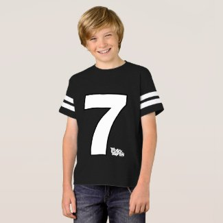 Kids Football Track Seven Shirt