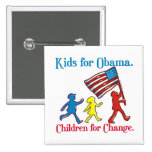Kids for Obama Buttons