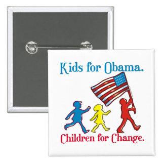 Kids for Obama Pinback Button