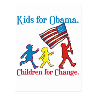 Kids for Obama Postcard