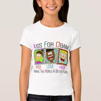 KIDS FOR OBAMA T-Shirt