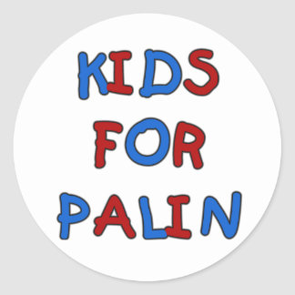 Kids for Palin Stickers