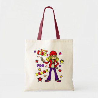 KIDS FOR PEACE TOTE BAGS