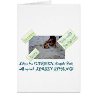 Kids for Rebuilding Jersey Shore Card