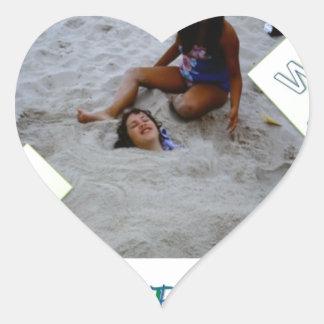Kids for Rebuilding Jersey Shore Heart Sticker