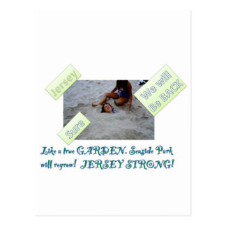 Kids for Rebuilding Jersey Shore Postcard