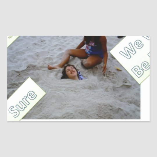 Kids for Rebuilding Jersey Shore Rectangular Sticker