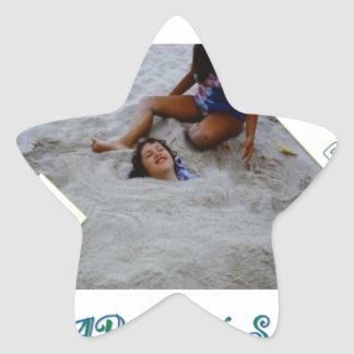 Kids for Rebuilding Jersey Shore Star Sticker