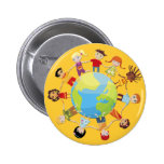 Kids for World Peace 2 Inch Round Button
