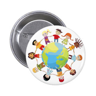 Kids for World Peace Pin