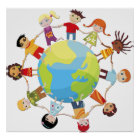 Kids for world peace poster