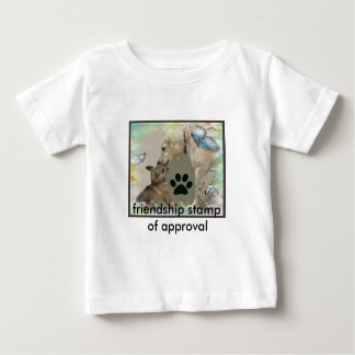 Kids Friendship stamp of approval Baby T-Shirt