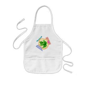 Kids Frog T Shirts and Kids Frog Gift Kids' Apron
