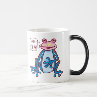 Kids Frog T Shirts and Kids Frog Gift Magic Mug