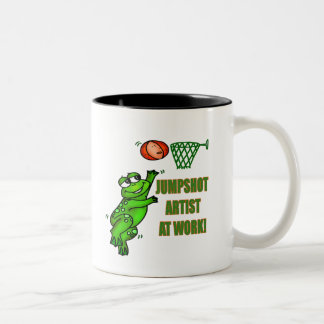 Kids Frog T Shirts and Kids Frog Gift Two-Tone Coffee Mug