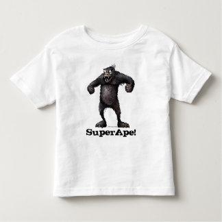 Kid's Funny Super Ape Monkey Toddler T-shirt