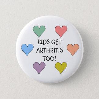 KIDS GET ARTHRITIS TOO! - buttons