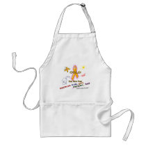 Kids Get Cancer, Too! Adult Apron