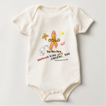 Kids Get Cancer, Too! Baby Bodysuit