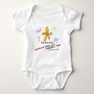 Kids Get Cancer, Too! Baby Bodysuit