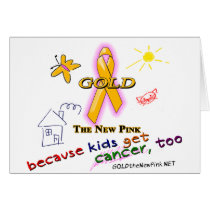 Kids Get Cancer, Too! Card