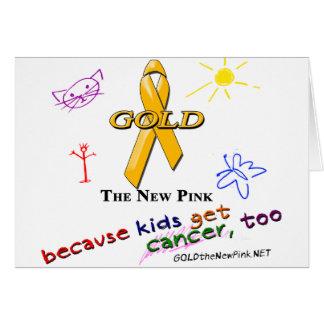 Kids Get Cancer, Too! Card